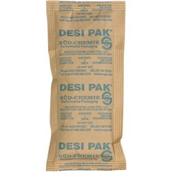 "3 x 6 x 3/8"" Kraft Clay Desiccants - 5 Gallon Pail"