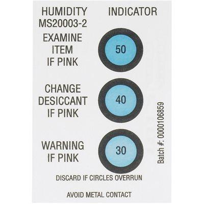 "2 x 3"" 30-40-50% Humidity Indicators"