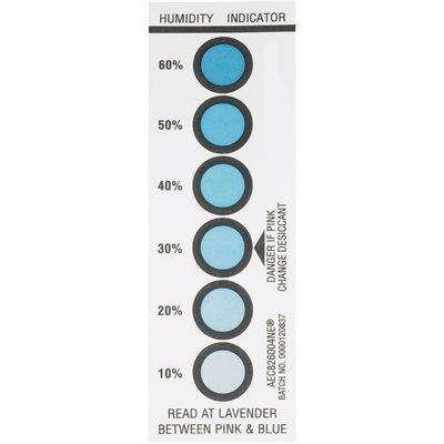 "1 9/16 x 4 3/4"" 10-20-30-40-50-60% Humidity Indicators"