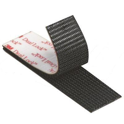 """1"""" x 150' Black (1 Pack) 3M SJ3542 Dual Lock™ Fasteners"""