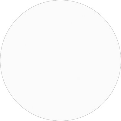 """3"""" Fluorescent Green Inventory Circle Labels"""