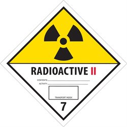 "4 x 4"" - ""Radioactive II"" Labels"