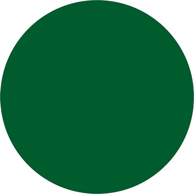 """3/4"""" Green Inventory Circle Labels"""