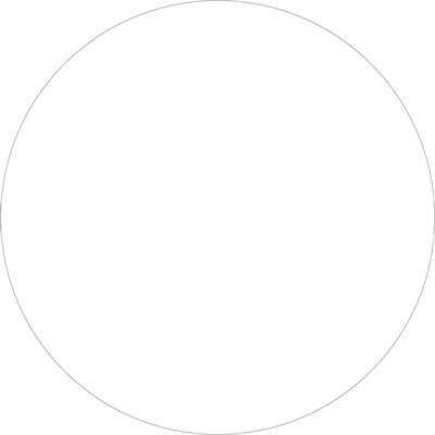"""1 1/2"""" White Inventory Circle Labels"""