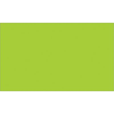 """3 x 5"""" Fluorescent Green Inventory Rectangle Labels"""
