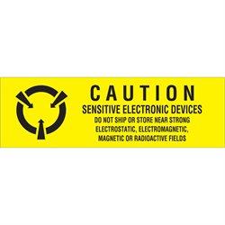 "5/8 x 2"" - ""Sensitive Electronic Devices"" Labels"