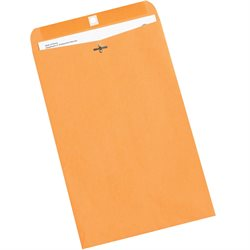 "9 1/4 x 14 1/2"" Kraft Clasp Envelopes"