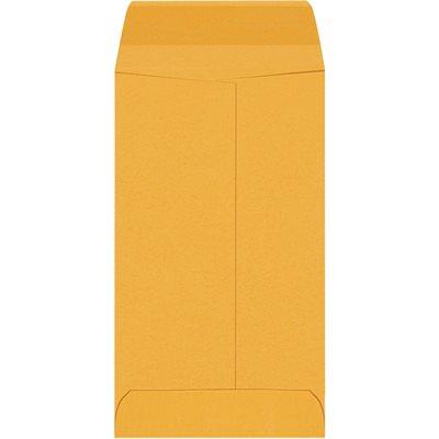 """3 1/8 x 5 1/2"""" Kraft Gummed Envelopes"""