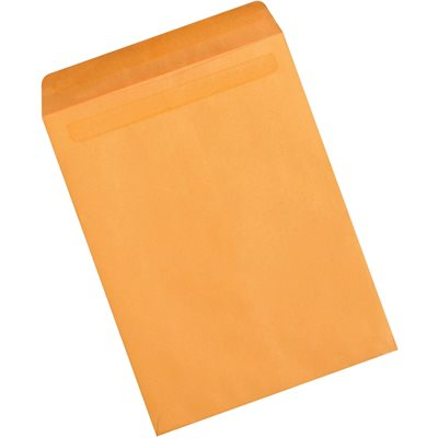 "12 x 15 1/2"" Kraft Redi-Seal Envelopes"