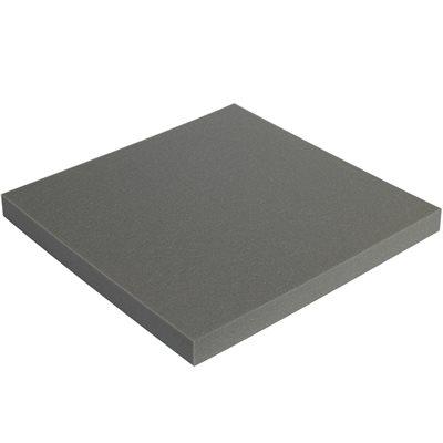 """2 x 24 x 24"""" Charcoal Soft Foam Sheets"""