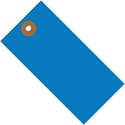 "3 1/4 x 1 5/8"" Blue Tyvek® Shipping Tag"