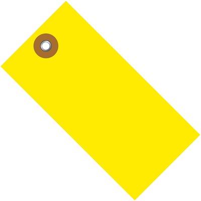 "5 1/4 x 2 5/8"" Yellow Tyvek® Shipping Tag"