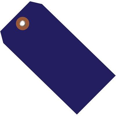 "4 3/4 x 2 3/8"" Blue Plastic Shipping Tags"