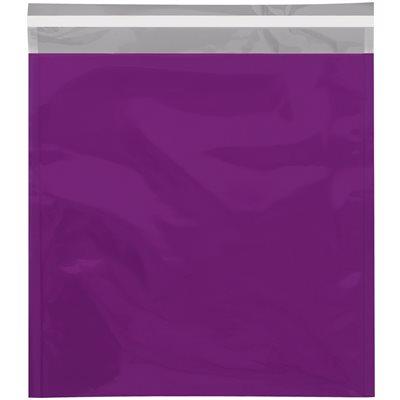 "10 3/4 x 13"" Purple Metallic Glamour Mailers"
