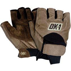 Half-Finger Impact Gloves - Large