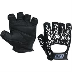 Mesh Backed Lifting Gloves - Black - Large