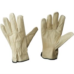 Pigskin Leather Drivers Gloves - Large