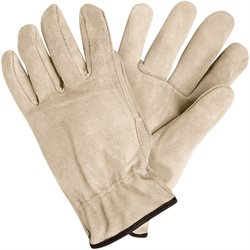 Deluxe Cowhide Leather Drivers Gloves - Large