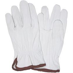 Goatskin Leather Drivers Gloves - Medium