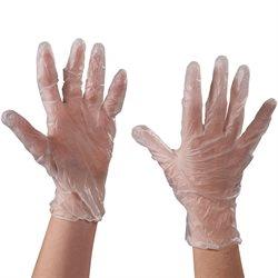 Vinyl Gloves- Clear - 3 Mil - Powder Free - XLarge