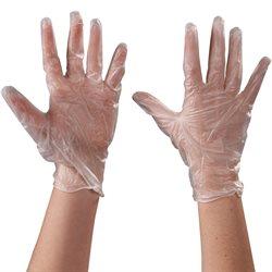 Vinyl GlovesClear - 5 Mil - Powdered - Medium