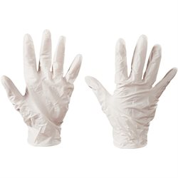 Latex Industrial Gloves - Medium