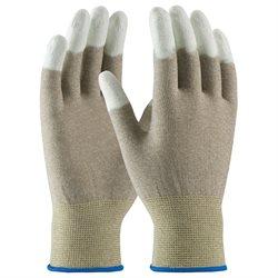 ESD Fingertip Coated Nylon Gloves - Small