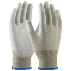 ESD Palm Coated Nylon Gloves - Small