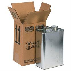 "6 3/4 x 4 5/16 x 10 3/8"" 1 - 1 Gallon F-Style Boxes"