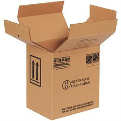 "9 x 6 11/16 x 10 1/4"" 2 - 1 Gallon F-Style Boxes"