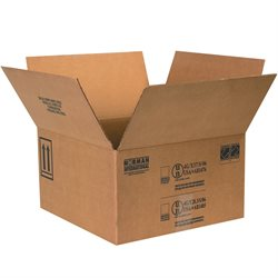 "17 x 17 x 9 5/16"" 4 - 1 Gallon Paint Can Boxes"
