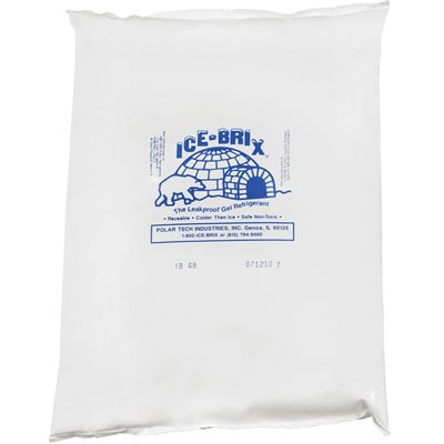 "10 1/4 x 8 x 1 1/2"" - 48 oz. Ice-Brix™ Cold Packs"