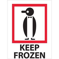 """3 x 4"""" - """"Keep Frozen"""" Labels"""
