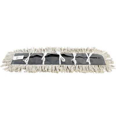 """Deluxe 48"""" Pretreated Dust Mop Replacement Heads"""