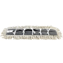 "Deluxe 48"" Pretreated Dust Mop Replacement Heads"