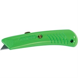 RSG-383 Safety Grip Utility Knife - Neon Green