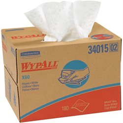 WypAll® X60 Industrial Wipers Dispenser Box