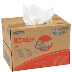 WypAll® X70 Industrial Wipers Dispenser Box