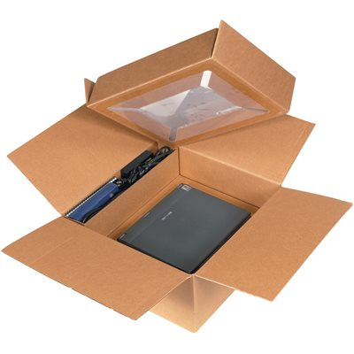 "17 x 17 x 8"" Laptop Shipping System"