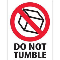 "3 x 4"" - ""Do Not Tumble"" Labels"