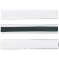 "1 x 6"" Hol-Dex® Magnetic Plastic Label Holders"