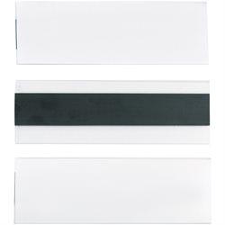 "2 x 6"" Hol-Dex® Magnetic Plastic Label Holders"