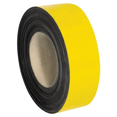 """2"""" x 100' - Yellow Warehouse Labels - Magnetic Rolls"""