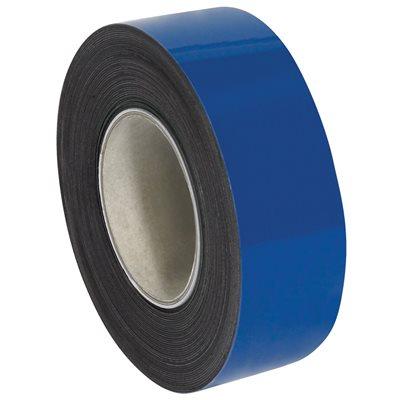 "2"" x 100' - Blue Warehouse Labels - Magnetic Rolls"