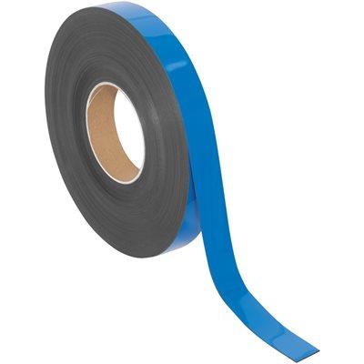 "1"" x 100' - Blue Warehouse Labels - Magnetic Rolls"