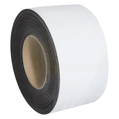 """3"""" x 100' - White Warehouse Labels - Magnetic Rolls"""