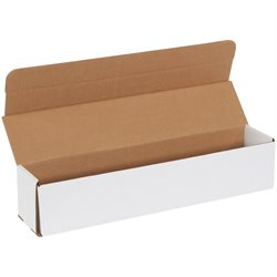 "10 x 2 x 2"" White Corrugated Mailers"