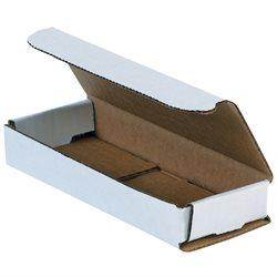 "10 x 3 x 1"" White Corrugated Mailers"