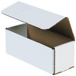 "10 x 3 x 3"" White Corrugated Mailers"