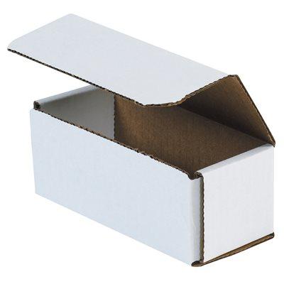 "10 x 6 x 3"" White Corrugated Mailers"